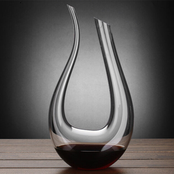 NEW 2017 Handmade Crystal Wine - Brandy - Champagne Decanter -Large 1500 ml 50 oz - FREE Shipping
