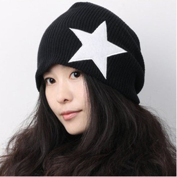 Five Point Star - Warm Knitted Cotton - Hip Hop Cap – Johnny s Trading  Exchange f624afa6ba9c