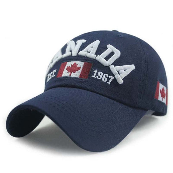 Baseball Cap - Flag Of Canada