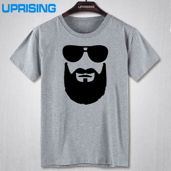 Cool Beard Sunglasses Men's T Shirt