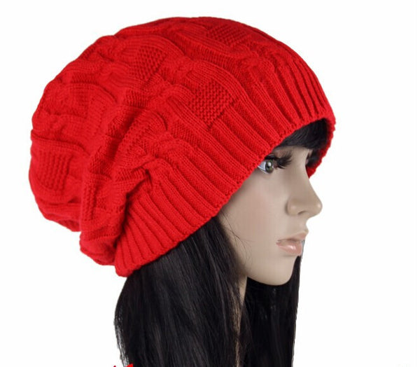 4558c992cdd Cotton Knitted Winter Hat – Johnny s Trading Exchange