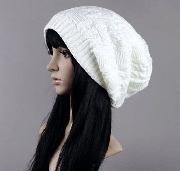Cotton Knitted Winter Hat