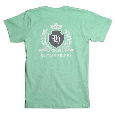 HEIRESS EQUINE CREST TEE - MINT