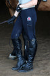 HEIRESS EQUINE BREECHES - NAVY