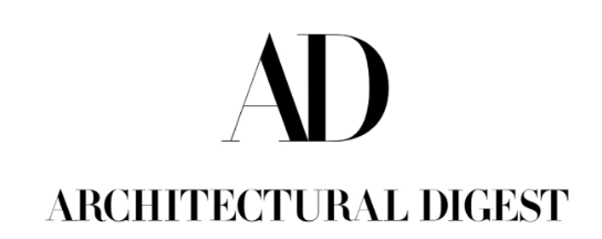 Large A and D, below it written Architectural Digest