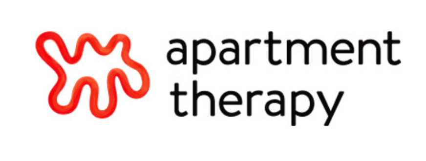apartment therapy logo with squiggle shape
