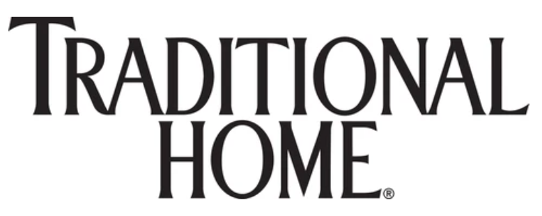 black font Traditional Home