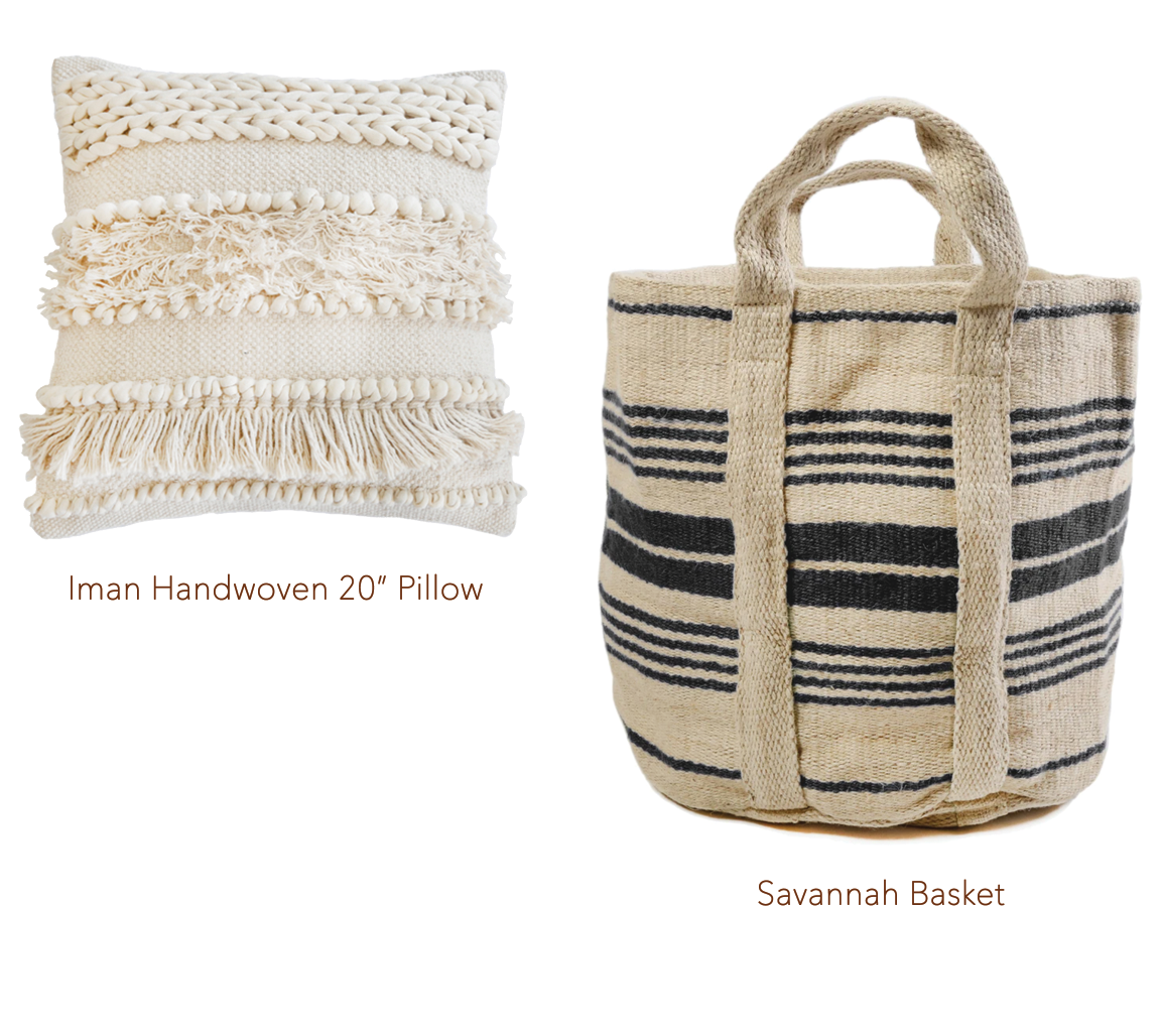 Iman Pillow with tassels
