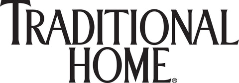 Traditional Home in black lettering