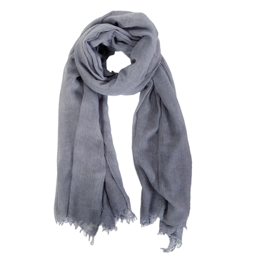 BERGEN SCARF - DENIM