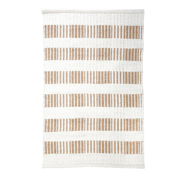 NEW!  BROOKE HANDWOVEN RUG - NATURAL