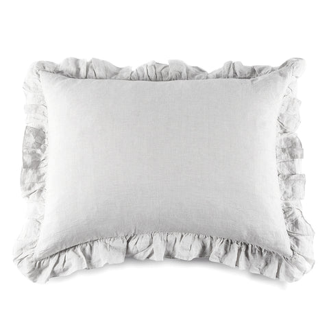 CHARLIE BIG PILLOW - SILVER