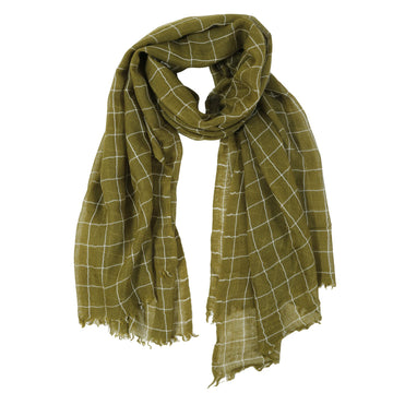 EAMES SCARF - MOSS