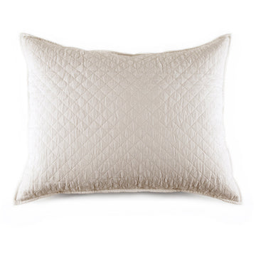 "HAMPTON BIG PILLOW 28"" X 36"" WITH INSERT - CREAM"