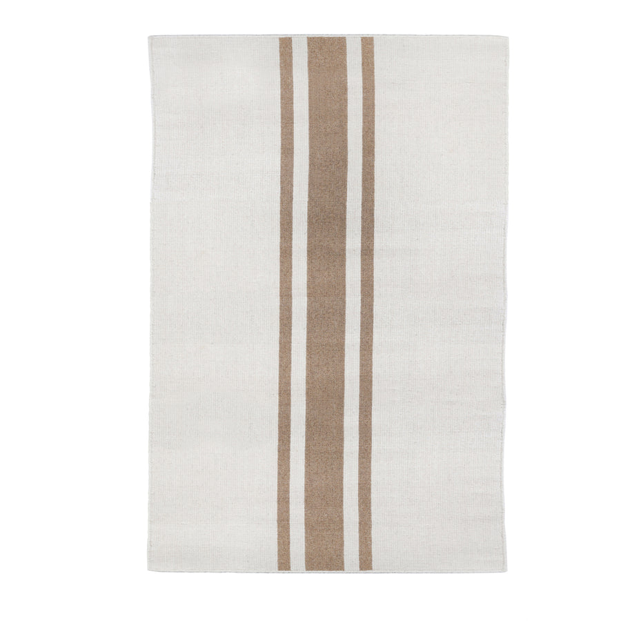 BEACHWOOD HANDWOVEN RUG - IVORY/NATURAL