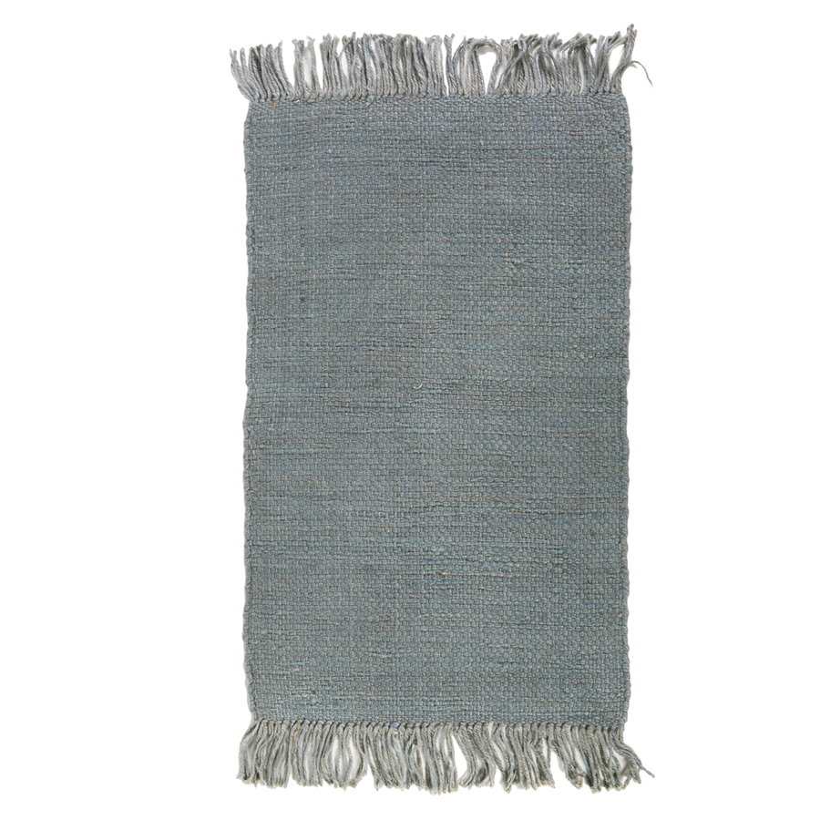 NILE HANDWOVEN RUG - NORDIC BLUE