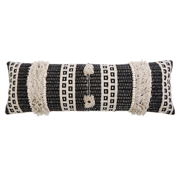 "SAWYER HAND WOVEN PILLOW 14"" x 40"" with insert"