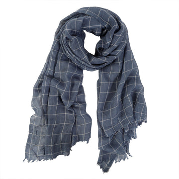 EAMES SCARF - DENIM