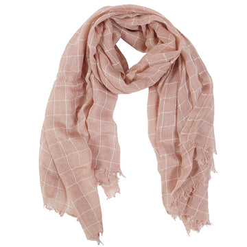 EAMES SCARF - ROSE