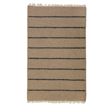 NEW!  WARBY HANDWOVEN RUG - NATURAL