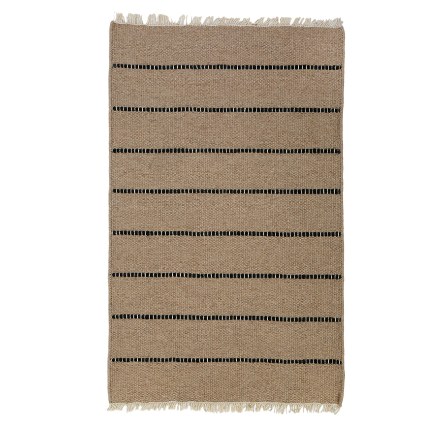 <b> NEW! </b> WARBY HANDWOVEN RUG - NATURAL