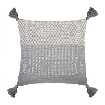 "ALICE HAND WOVEN PILLOW 20"" x 20"" with insert"