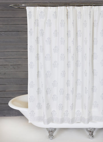 BAHAAR SHOWER CURTAIN - 2 colors
