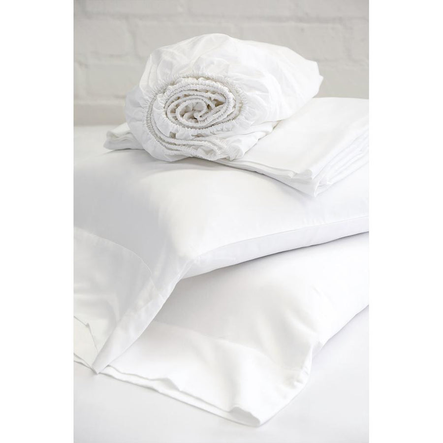 BAMBOO SHEET SET - WHITE