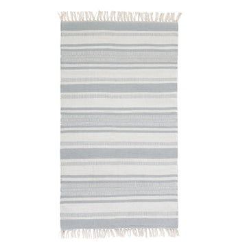 CALYPSO HANDWOVEN RUG - NORDIC BLUE-Pom Pom at Home