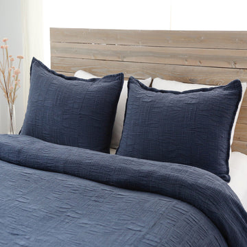 Harbour Matelasse Collection - Navy-Pom Pom at Home