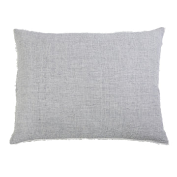 NEW!  LOGAN BIG PILLOW WITH INSERT NAVY