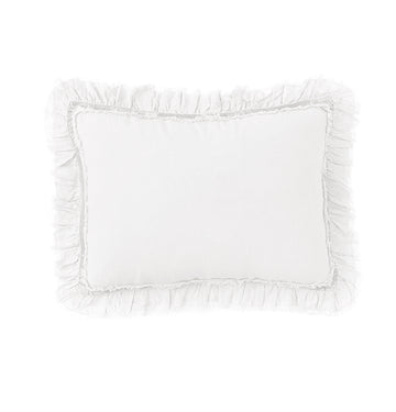 "MATHILDE BIG PILLOW 28"" x 36"" With Insert - White"