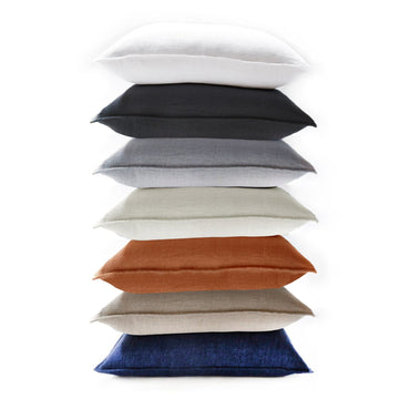 "Montauk BIG PILLOW 28"" X 36"" WITH INSERT - 7 Colors-Pom Pom at Home"