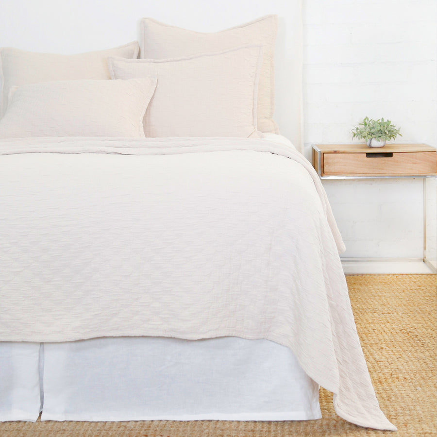 Ojai Matelasse Collection - Blush