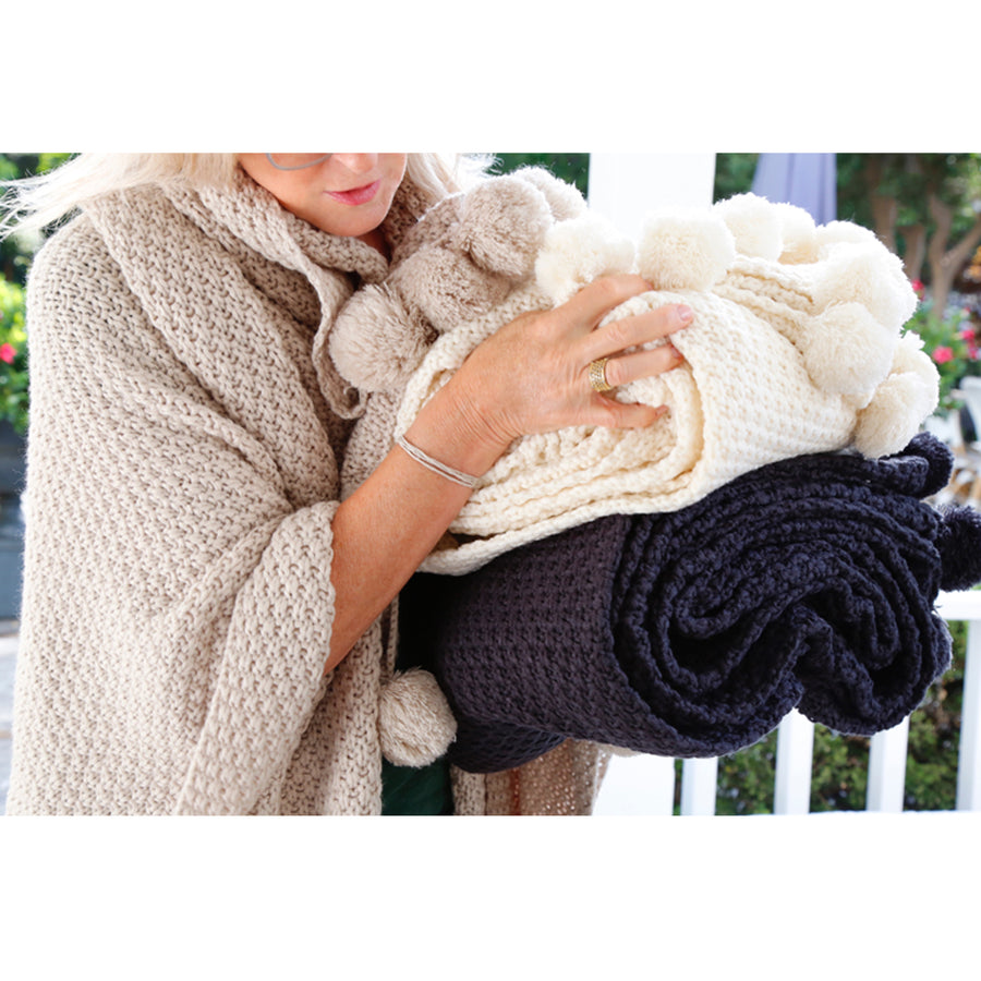 Riley Oversized Throw - 3 Colors