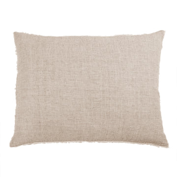 "LOGAN BIG PILLOW 28"" X 36"" WITH INSERT - TERRA COTTA"