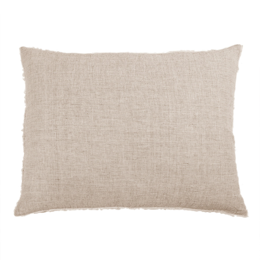 <b> NEW! </b> LOGAN BIG PILLOW WITH INSERT TERRA COTTA
