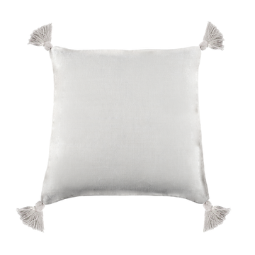 "Montauk Pillow 20"" x 20"" with tassels and insert"