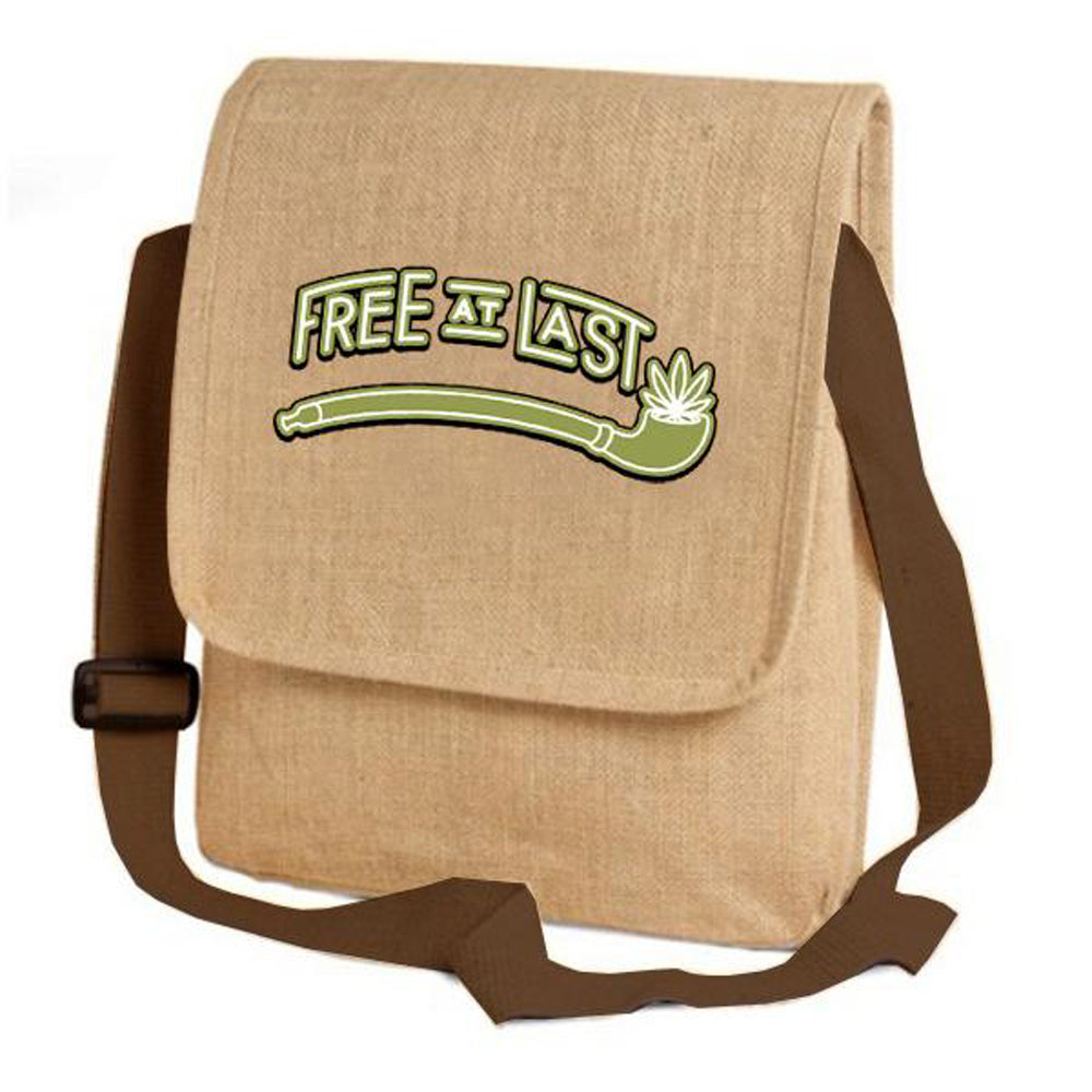 Jute Lightweight Messenger Bag