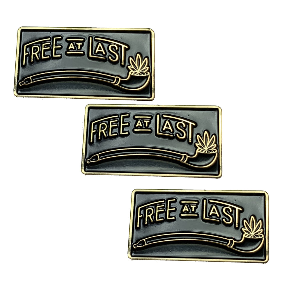 Free At Last Pin - Pack of 3 Pins