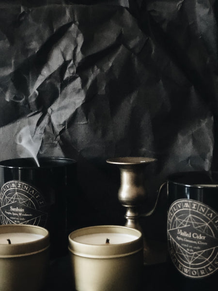 AUTUMN COLLECTION NO. II: MULLED CIDER - 12 OZ CANDLE