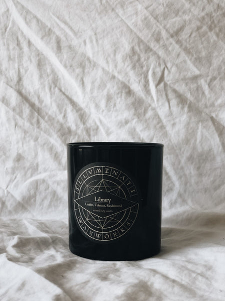 NO II. LIBRARY — 12 OZ CANDLE