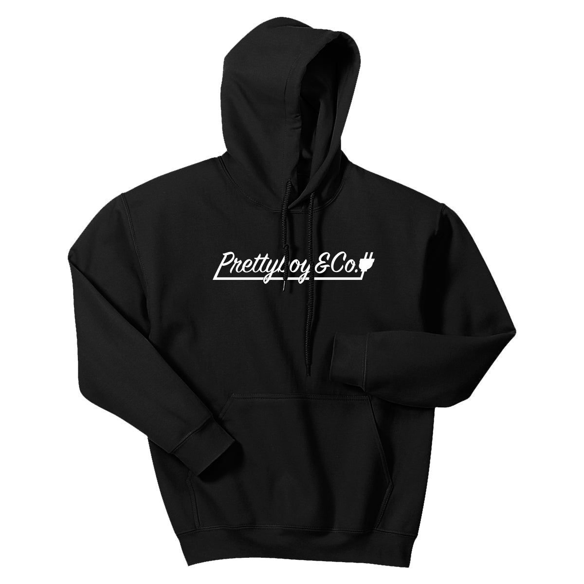 Black Script Hooded Sweatshirt (Limited)