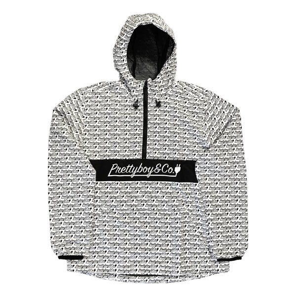 All Over Script Anorak Windbreaker (Limited)