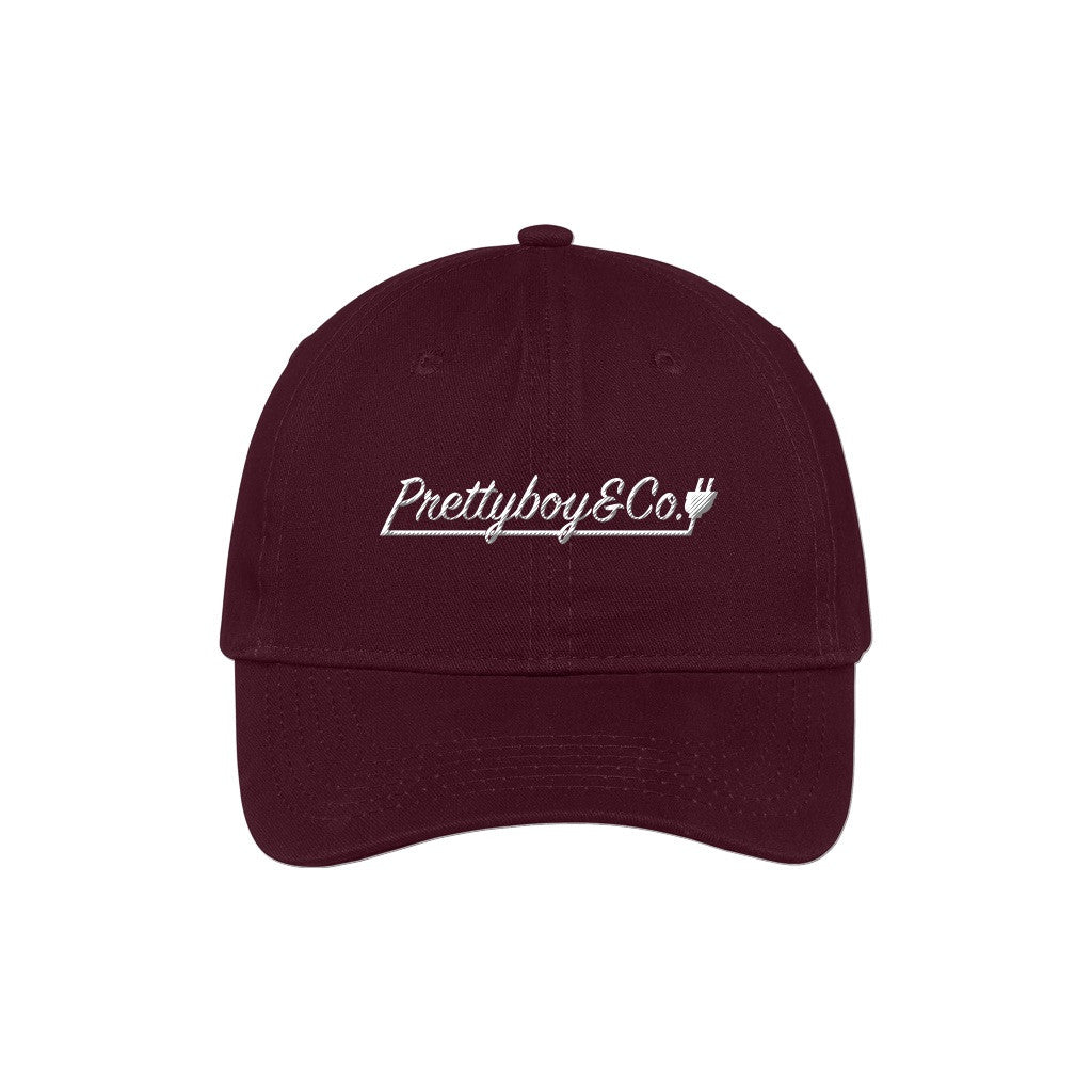 Embroidered Adjustable Script/YPP Dad Hat (PREORDER)