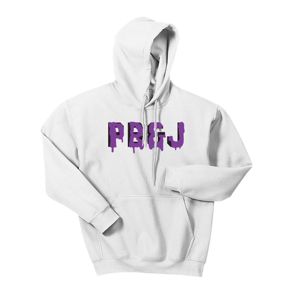 WHITE PB&J HOODED SWEATSHIRT (Limited)