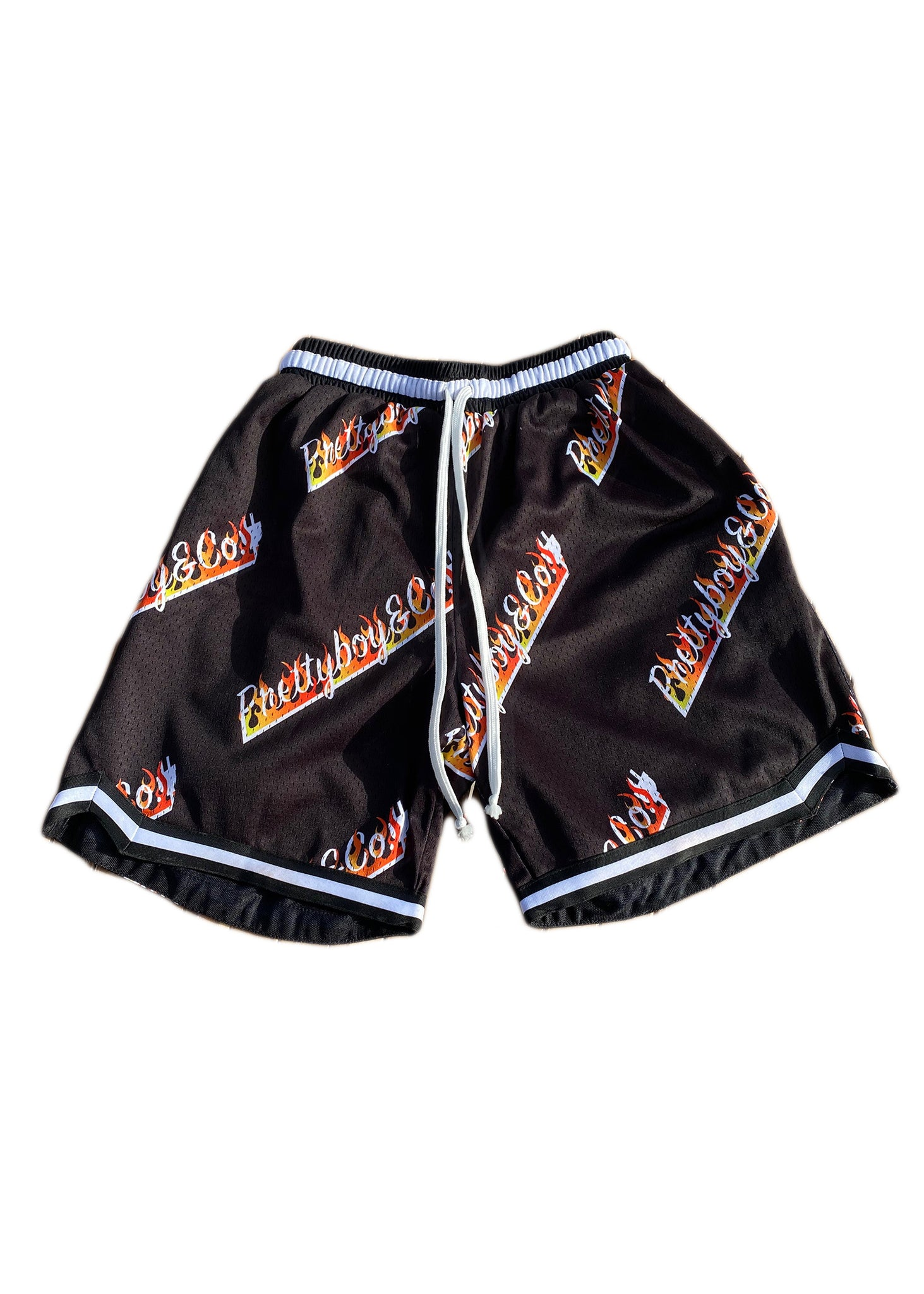 All Over Flames Shorts (Quickstrike)