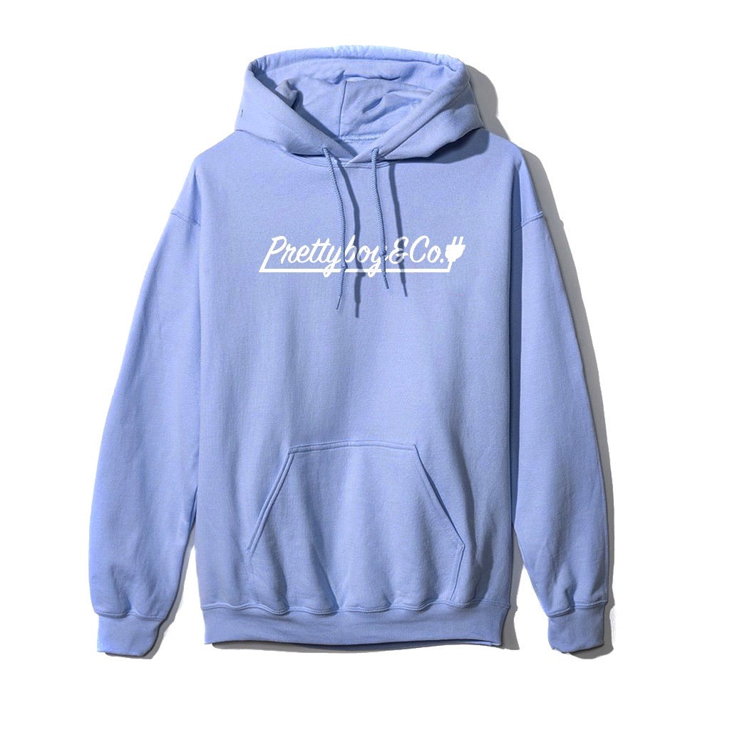 Carolina Blue Script Hooded Sweatshirt (Limited)