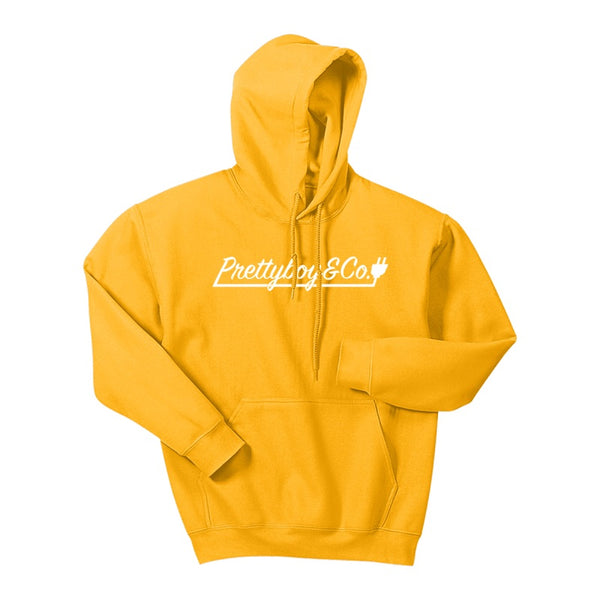 Gold Script Hooded Sweatshirt (Limited)