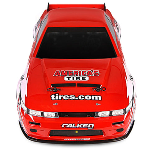 HPI 112587 Nitro 3 Drift Nissan S13 with Discount Tire Body RTR Nitro !!